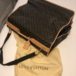 Louis Vuitton Monogram Garment Bag Luggage